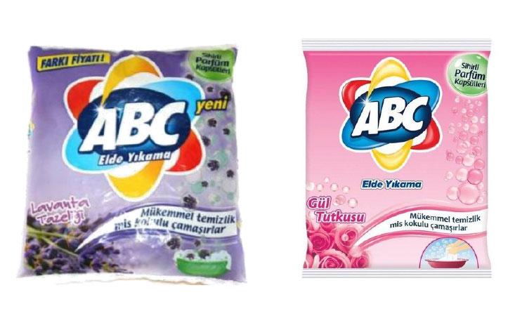 ABC Toz Deterjan Elde Yıkama