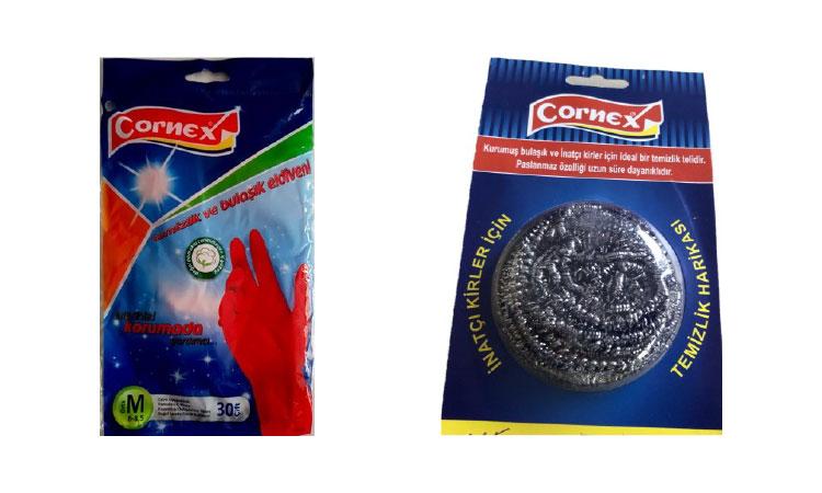 Cornex Bulaşık Eldiveni Bulaşık Teli