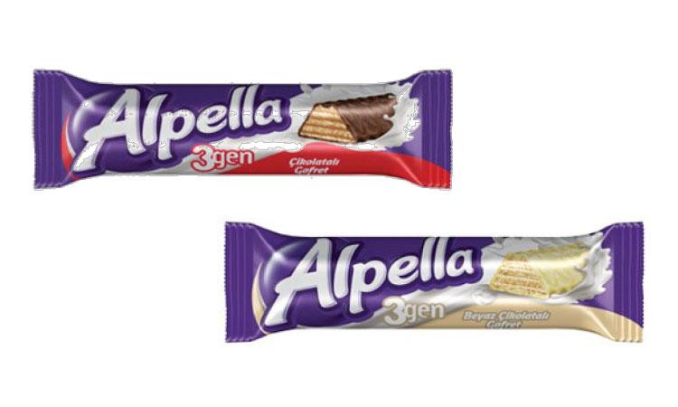 Ülker Alpella Çikolata - Beyaz Çikolata