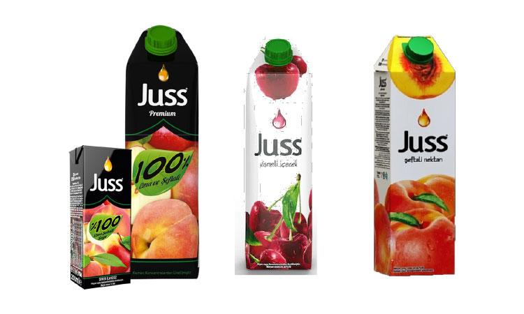 Juss Meyve Suyu Çeşitleri