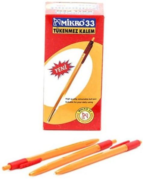 MİKRO 33 Tükenmez Kalem