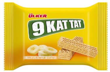 ÜLKER 9 Kat Tat Fındık, Muz