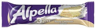ÜLKER Alpella Çikolata, Beyaz Çikolata