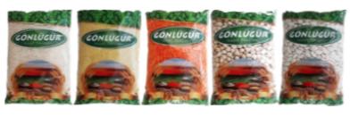 GÖNLÜGÜR Pirinç, Bulgur, Mercimek, Nohut, Fasulye