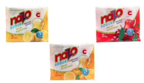 NAZO 2'li Limon, Portakal, Vişne, Şeftali