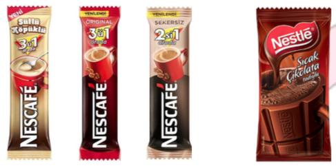 NESCAFE 3+1,2+1, 3+1 Sütlü Köpüklü NESTLE Sıcak Çikolata