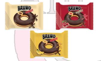 ANI Brawo Donut Kakao, Vişne, Muz